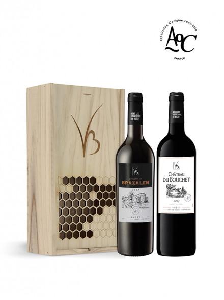 Coffret Vin caisse bois–2...