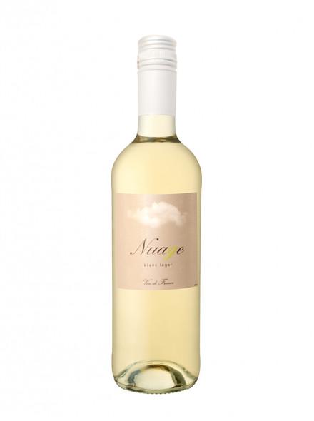 Nuage vin blanc léger à faible degré d'alcool