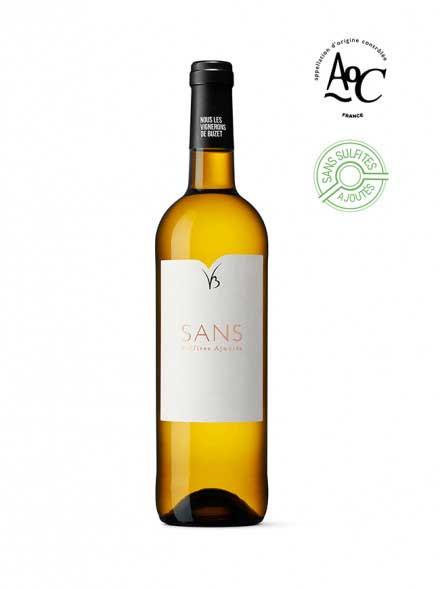 Sans vin sans sulfites ajoutés blanc AOC Buzet