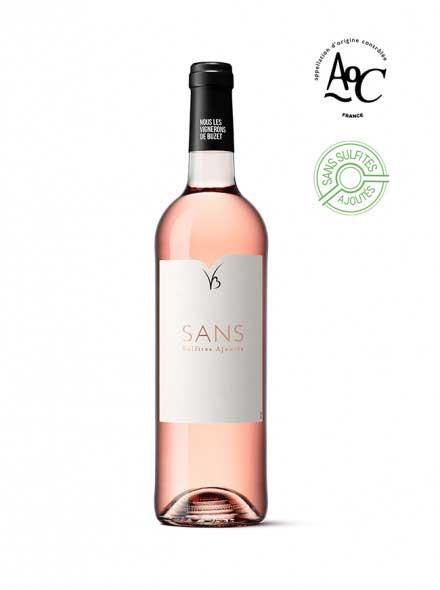 Sans vin sans sulfites ajoutés rosé AOC Buzet