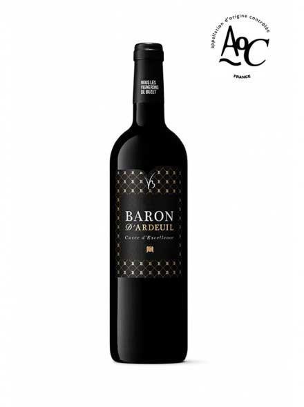 vin rouge phare Baron d'Ardeuil AOC Buzet - 75cl