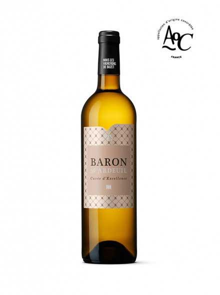 Le Baron d'Ardeuil est le vin blanc phare AOC Buzet des Vignerons de Buzet - 75cl
