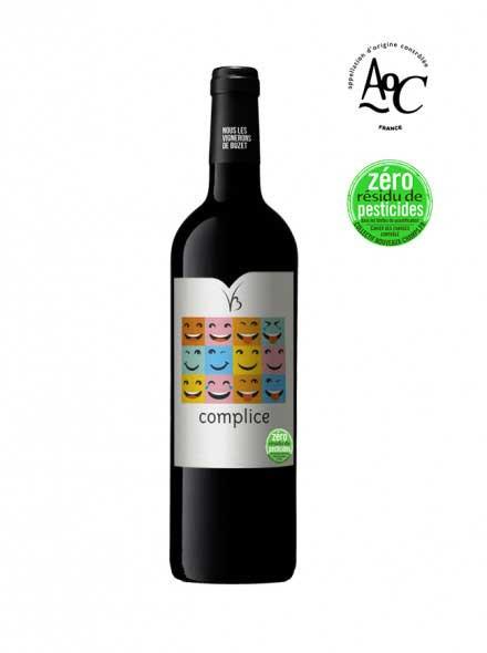 Le vin rouge sans résidus de pesticides, Complice, Les Vignerons de Buzet - 75cl