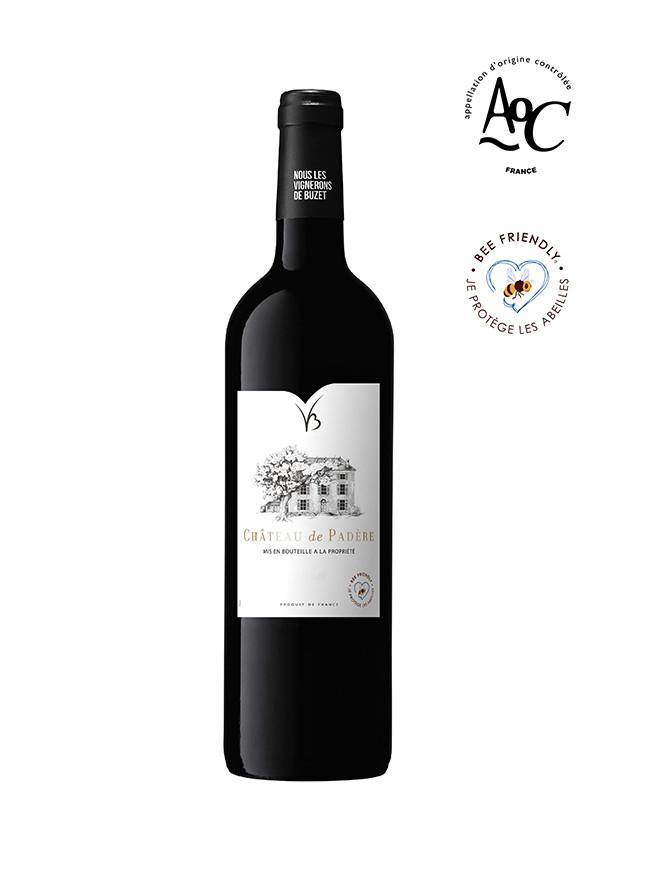 Château de Padère vin rouge AOC Buzet 2016