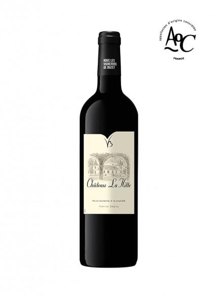 Château La Hitte vin rouge vegan  AOC Buzet 2016 75 cl