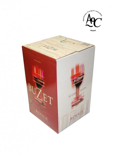 "Vin rouge AOC Buzet BiB ""cubi"" 10l"