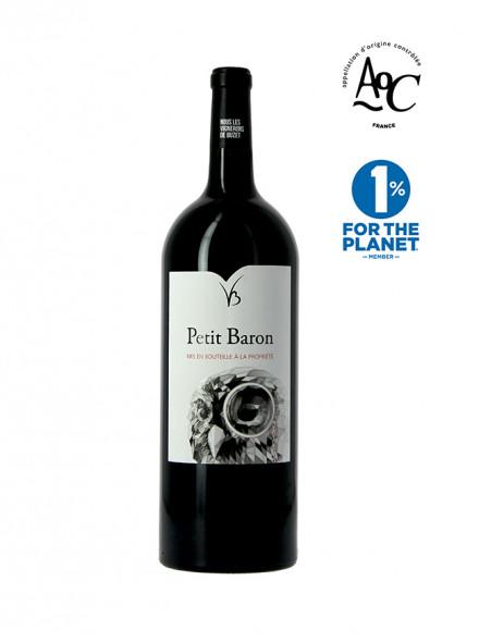 Petit Baron vin rouge AOC Buzet millésime 2016 Magnum