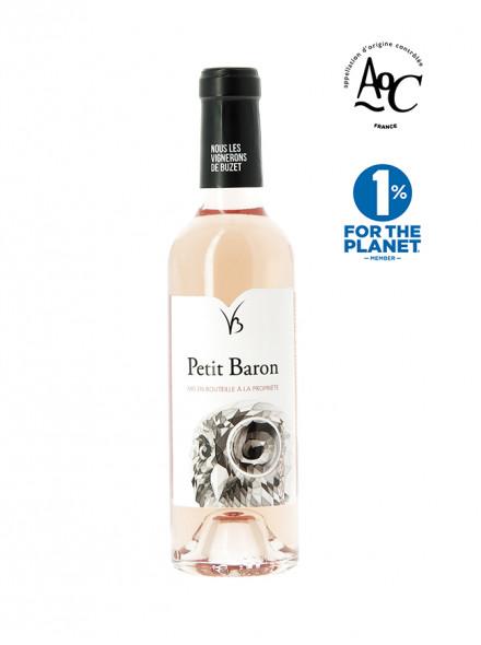 Petit Baron bouteille 37.5cl vin rosé AOC Buzet