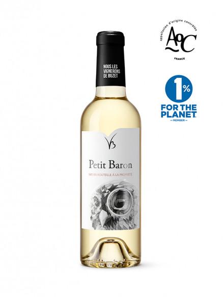 petit baron vin blanc 37,5 cl AOC buzet