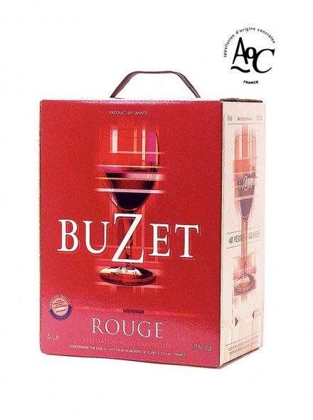 "Vin rouge AOC Buzet Bag in Box® / ""cubi"" 5 l"
